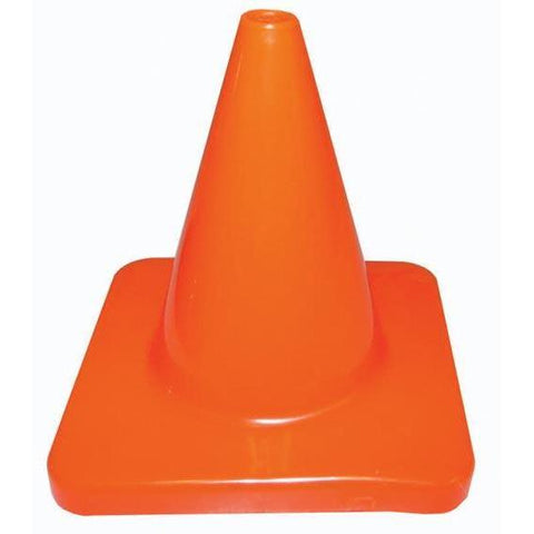 "4"" Orange Traffic Cone - Ohio Fitness Garage - Olympia -Heavyweight Orange Cones Equipment"