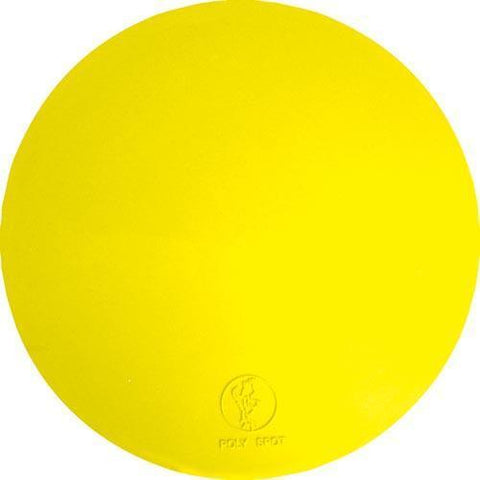 "5"" Poly Spots - Yellow (Dozen) - Ohio Fitness Garage - Olympia -Instructors Deluxe Poly Spots Equipment"