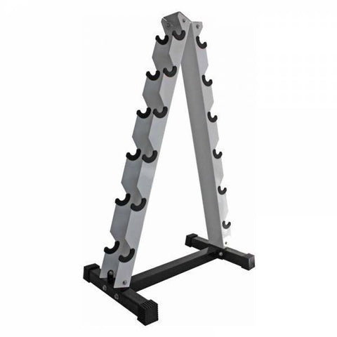"""A"" Shape Dumbbell Rack for 6 Pairs - Ader Fitness - Ohio Fitness Garage - Ader Fitness -Racks Equipment"