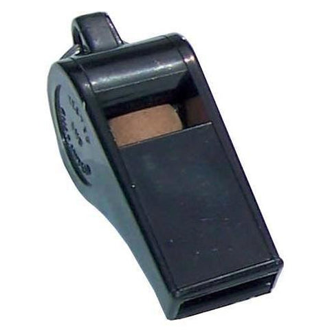 Acme Thunderer Plastic Whistle - Black - Ohio Fitness Garage - Olympia -Low Cost Officials Whistles Equipment