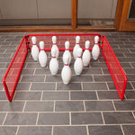 Bowling Backstop - Red - Ohio Fitness Garage - Olympia -Bowling Accessories Equipment