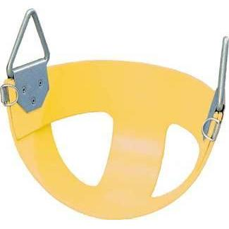 Bucket Rubber Swing Seat - Yellow - Ohio Fitness Garage - Olympia -Swing Seats - Enclosed/Bucket Equipment