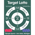 Bullseye Target Toss - Ohio Fitness Garage - Olympia -Roll-Out Games Equipment