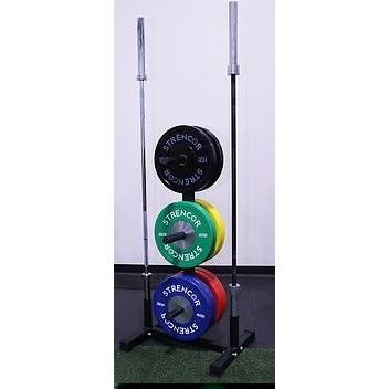 Bumper Plate Tree - Strencor - Ohio Fitness Garage - Strencor -sports Equipment