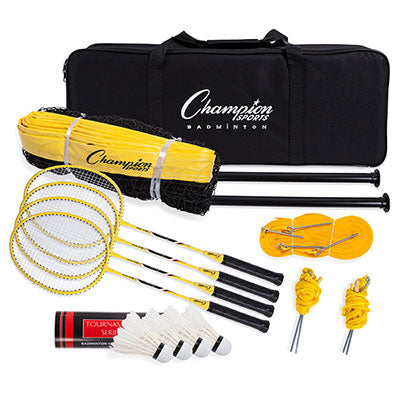 Deluxe Badminton Tournament Set - Champion Sports