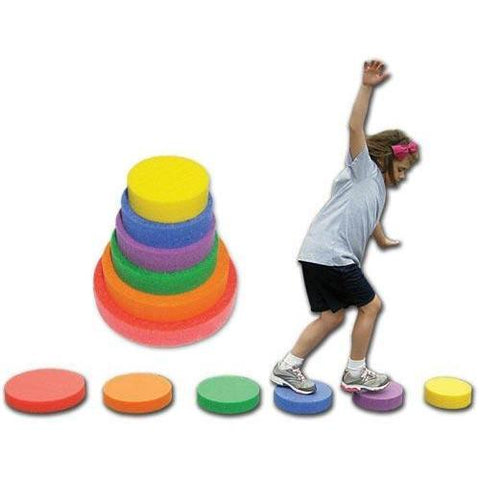 Challenge Skill Spots - Ohio Fitness Garage - Olympia -Balancing Pods/Domes/Objects Equipment