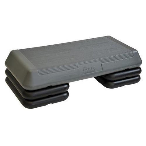 Circuit Step - Grey & Black - Ohio Fitness Garage - Olympia -Steppers & Fitness Steps Equipment