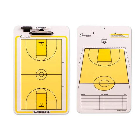 Coaches' Board Clipboard - Basketball - Ohio Fitness Garage - Olympia -Coaches' Boards Equipment