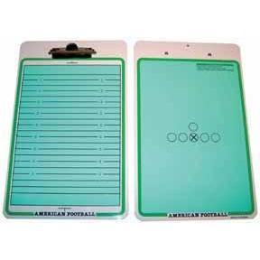 Coaches' Board Clipboard - Football - Ohio Fitness Garage - Olympia -Coaches' Boards Equipment