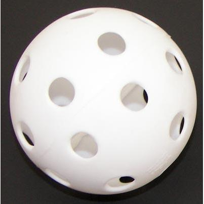 Cosom Baseball Fun Ball - White - Ohio Fitness Garage - Olympia -Misc. Fun Balls Equipment