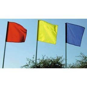 "Course Flag w/ 84"" Post - Ohio Fitness Garage - Olympia -Flags & Course Arrows Equipment"