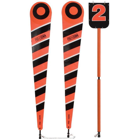 Deluxe Collegiate Down Marker & Chain Set - Ohio Fitness Garage - Olympia -Down Markers & Chain Sets Equipment