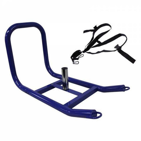 Drag / Push Power Training - Prowler Sled- Padded Harness  - Ader Fitness