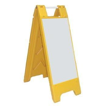 Dry Erase Board - Ohio Fitness Garage - Olympia -A-Frame Signs Equipment