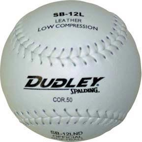 Dudley SB12LND Slow Pitch Softball - Ohio Fitness Garage - Olympia -Softballs Equipment