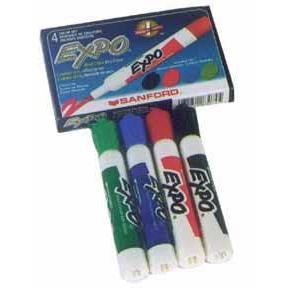 Erasable Markers - Set of 4