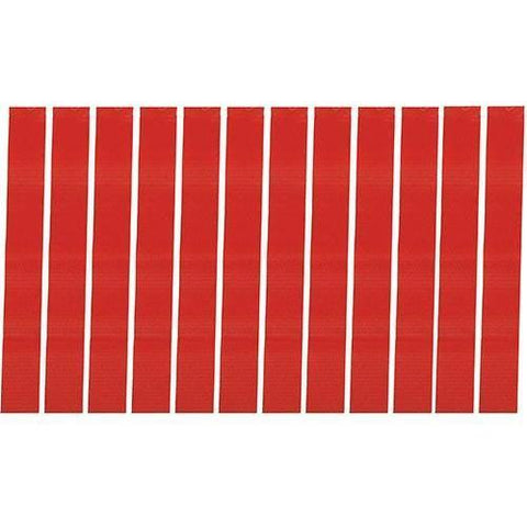 12 Red Flag Football Replacement Flags - Ohio Fitness Garage - Olympia -Extra Rip Flags Equipment
