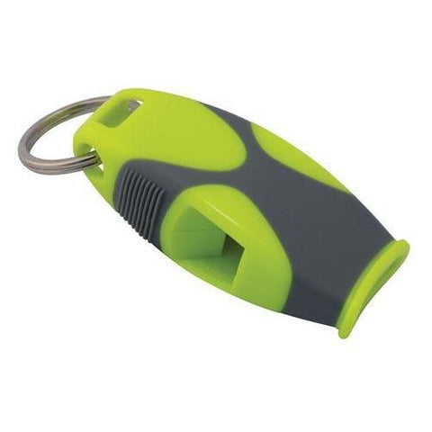 Fox 40 Sharx Whistle - Neon/Grey - Ohio Fitness Garage - Olympia -Fox Sharx Official's Whistles Equipment