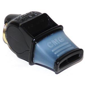 Fox 40 Sonik Blast CMG Whistle - Black - Ohio Fitness Garage - Olympia -Fox Sonik Blast CMG Officials Whistles Equipment
