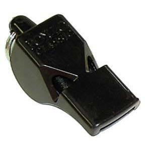 Fox Classic Whistle - Black - Ohio Fitness Garage - Olympia -Fox Classic & Mini Officials Whistles Equipment