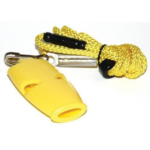 Fox Micro Official's Whistle - Yellow - Ohio Fitness Garage - Olympia -Fox Micro Official's Whistles Equipment