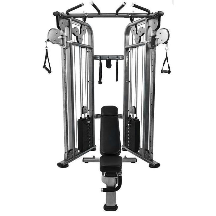 Lbs cable crossover machine high low for sale ohio fitness garage