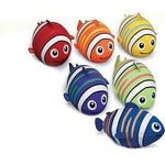 Giant Fish Footballs - Set of 6 - Ohio Fitness Garage - Olympia -Misc. Fun Balls Equipment