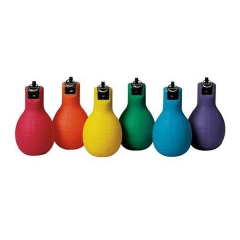 Hand Held Squeeze Whistles (Set of 6 Colors) - No Blowing - Ohio Fitness Garage - Olympia -Whistle Accessories Equipment