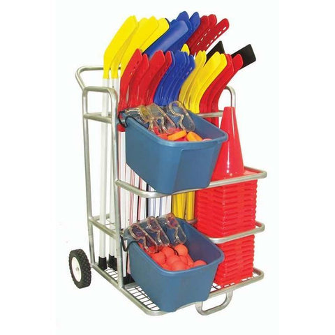 Hockey Equipment Cart - Ohio Fitness Garage - Olympia -Hockey Equipment Carts Equipment