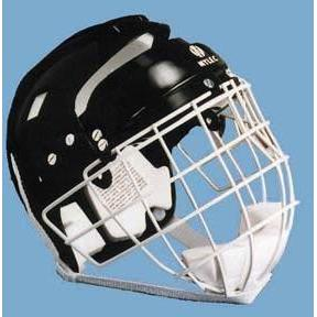 Hockey Helmet w/ Wire Face Cage - Junior - Ohio Fitness Garage - Olympia -Hockey Helmets & Masks Equipment