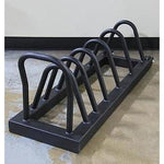 Horizontal Weightlifting Plate Storage Rack - Strencor - Ohio Fitness Garage - Strencor -Sports Equipment