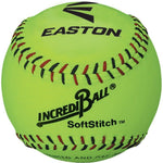 "Incrediball 12"" Softstitch Softball - Yellow - Ohio Fitness Garage - Olympia -Softballs Equipment"