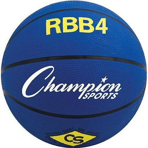 Inter. Olympia Basketball - Blue - Ohio Fitness Garage - Olympia -Rubber Basketballs (Olympia One-Color) Equipment