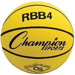 Inter. Olympia Basketball - Yellow - Ohio Fitness Garage - Olympia -Rubber Basketballs (Olympia One-Color) Equipment