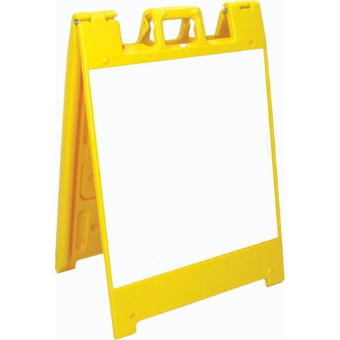 Jumbo Fold-Up Sign - Dry Erase - Ohio Fitness Garage - Olympia -A-Frame Signs Equipment