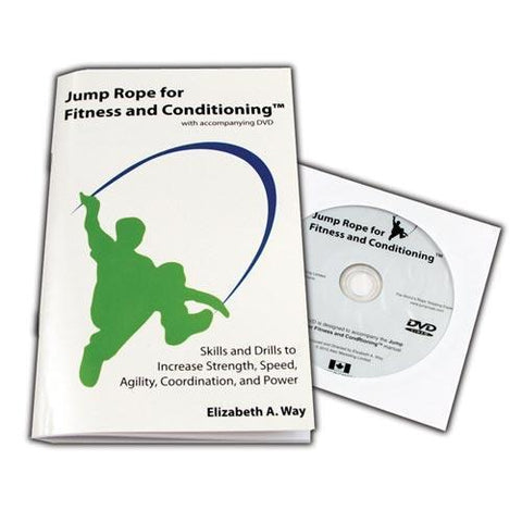 Jump Rope for Fitness & Conditioning Book/DVD - Ohio Fitness Garage - Olympia -Jump Rope Accessories Equipment