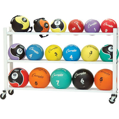 Deluxe Medicine Ball Cart - Champion Sports