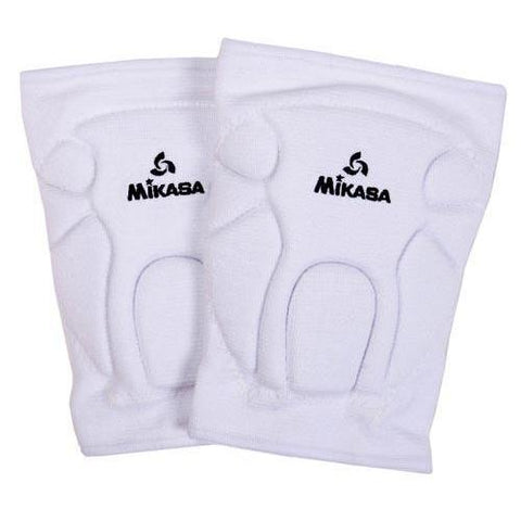 Mikasa Championship Knee Pads (Adult) - White - Ohio Fitness Garage - Olympia -Knee Pads Equipment