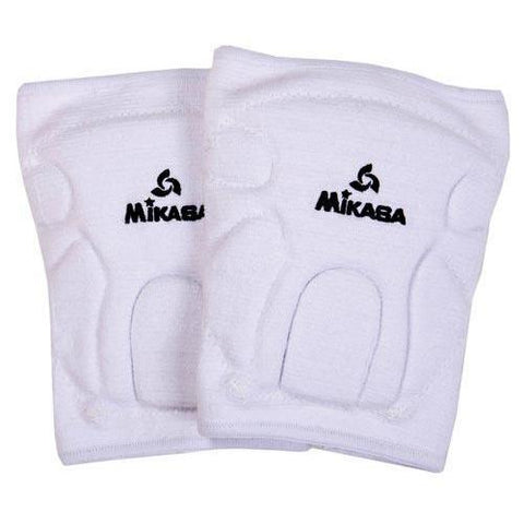 Mikasa Championship Knee Pads (Youth) - White - Ohio Fitness Garage - Olympia -Knee Pads Equipment