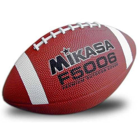 Mikasa Deluxe Rubber Football - Junior - Ohio Fitness Garage - Olympia -Rubber Footballs Equipment