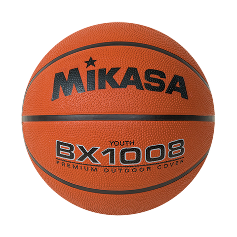 Mikasa Jr. BX1008 Rubber Basketball - Ohio Fitness Garage - Olympia -Rubber Basketballs Equipment