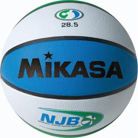 Mikasa NJB Rubber Basketball - Intermediate Size - Ohio Fitness Garage - Olympia -Rubber Basketballs Equipment