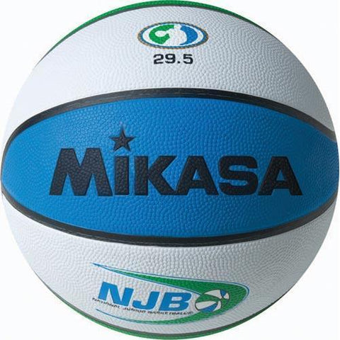 Mikasa NJB Rubber Basketball - Official Size - Ohio Fitness Garage - Olympia -Rubber Basketballs Equipment