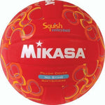 Mikasa No-Sting Squish Volleyball - Swirls/Red - Ohio Fitness Garage - Olympia -Squish Balls Equipment