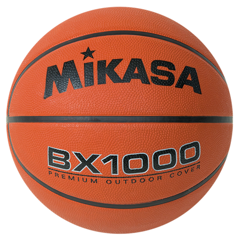 Mikasa Official BX1000 Rubber Basketball - Ohio Fitness Garage - Olympia -Rubber Basketballs Equipment