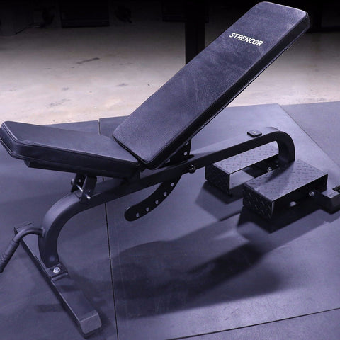 Multi Angle Adjustable Workout Bench - Strencor - Ohio Fitness Garage - Strencor -Sports Equipment