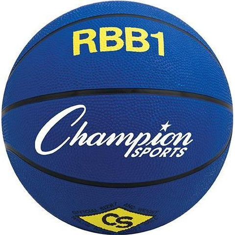 Official Olympia Basketball - Blue - Ohio Fitness Garage - Olympia -Rubber Basketballs (Olympia One-Color) Equipment