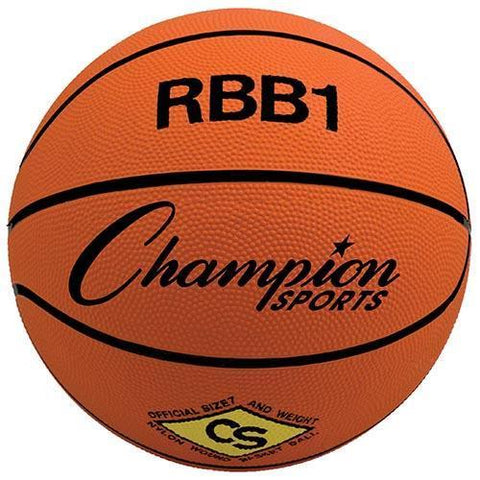 Official Olympia Basketball - Orange - Ohio Fitness Garage - Olympia -Rubber Basketballs (Olympia One-Color) Equipment