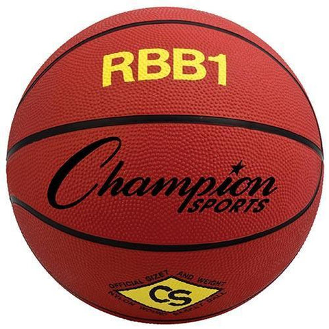 Official Olympia Basketball - Red - Ohio Fitness Garage - Olympia -Rubber Basketballs (Olympia One-Color) Equipment
