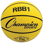 Official Olympia Basketball - Yellow - Ohio Fitness Garage - Olympia -Rubber Basketballs (Olympia One-Color) Equipment